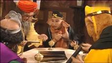 老施主教给唐僧师徒斋饭的正确吃法,八戒可不管那一套,狂吃!