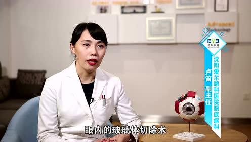 沈陽愛爾眼科眼底病專家盧笛詳細講解黃斑變性的三個關鍵因素