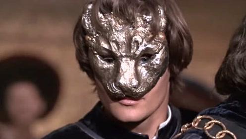 罗密欧与朱丽叶:罗密欧戴上面具,注视着朱丽叶