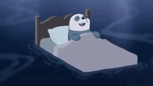 胖达因为吵睡不着,用安眠软件却更睡不着了
