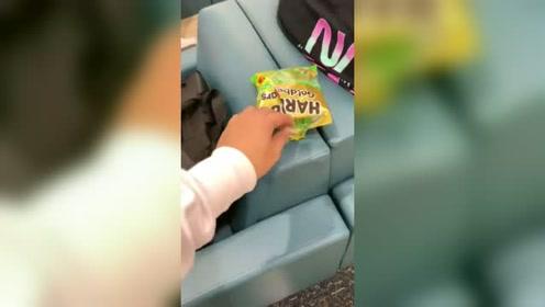 他根本不知道这颗糖该有多甜,千万不要发现这个视频