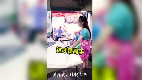 新招拿8千薪水的女厨师,当她展现开了挂的本领的那刻,全场看呆!