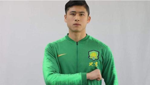 国安23岁新星彻底踢疯了:23分钟狂轰2球,数据中超第一