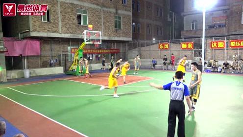 易燃体育:海尾村篮球友谊赛9月5日每日精彩集锦