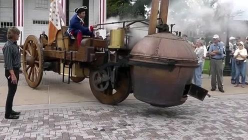 据说这是1780年的一款车,看完视频才知道,我这c证是不行啊