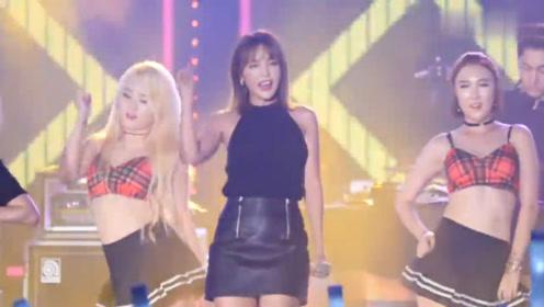 洪真英音乐热舞秀,韩国女星,嗨爆全球!