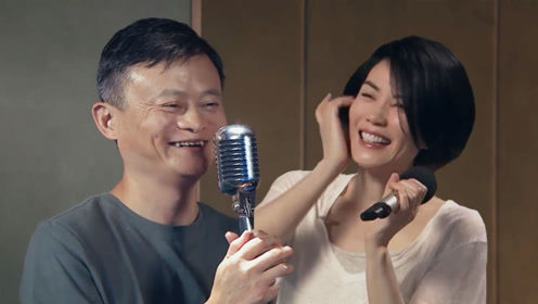 王菲直播首秀,开口仙气飘飘,和马云合唱《如果云知道》忍不住笑场!