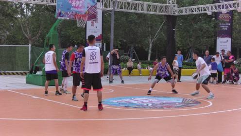 街头篮球3对3对抗赛精彩视频集锦,草根篮球就需要多参与实战获得大赛经验