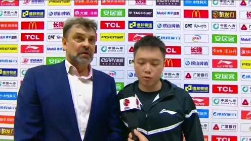 回顾CBA经典 杜峰缺席广东客胜新疆 听听赛后阿的江怎么点评