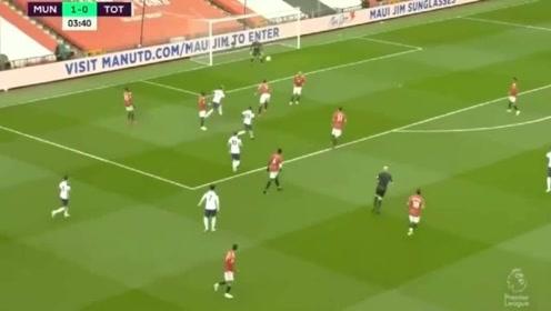 英超联赛:光速二连击!热刺5分钟内连进两球2-1反超曼联