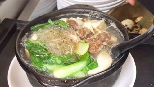 西安正宗砂锅老店23种口味,真正用牛骨熬汤,营养美味最低才12元