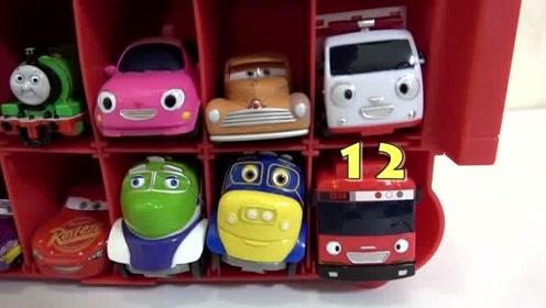 介绍托马斯和闪电麦昆等小汽车玩具