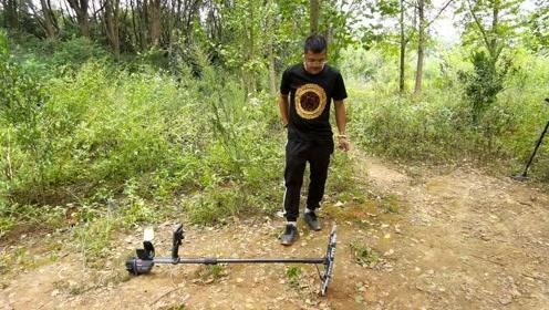 领先全球的地下金属探测视频(科学实拍实测)