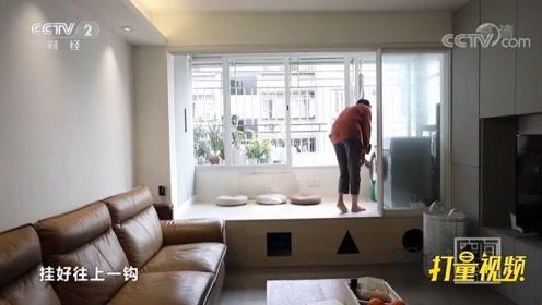 家有宠物这样装修超方便!客厅装猫洞还省晾衣杆,机智