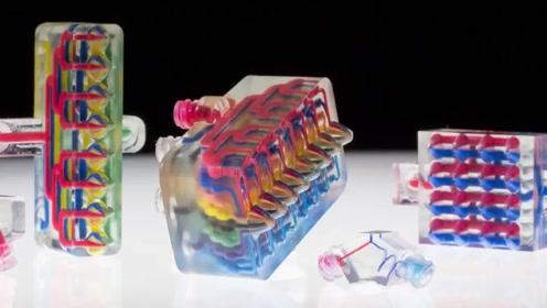 高科技:3D打印机打印的特殊零件,简单组装就可以自动行走!简单的物理原理,一定要看完这个视频!#生活窍门# #解压手工# #科学抗击疫情#