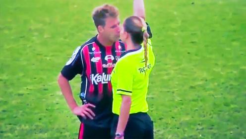 足球场上有趣的女裁判集锦,这些调皮的骚操作画面既幽默又调皮!