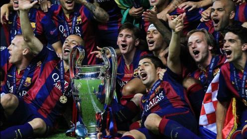 经典回顾欧冠决赛,巴萨尤文巅峰对决,MSN登顶欧洲之巅!