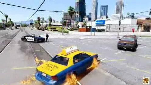恶灵骑士模拟:恶灵骑士第一次当出租车司机,结局高能