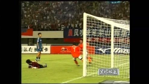 2003年甲A第9轮:李毅梅开二度,深圳健力宝势不可挡5:0狂屠八一