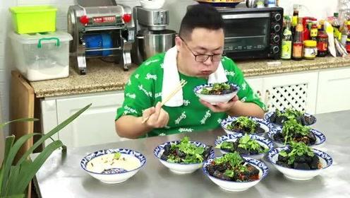 """100买120块臭豆腐,做道""""油炸臭豆腐""""外脆里嫩,真香"""