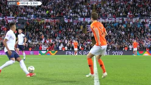 18/19欧国联半决赛:荷兰vs英格兰 下半场