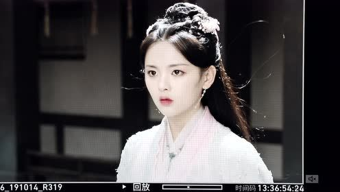 BTS: Feng Wu's veil dropped to show her pretty face | Dance of the Phoenix