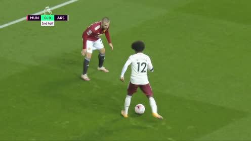 【粤语】博格巴送点奥巴梅扬破门 阿森纳客场1-0曼联