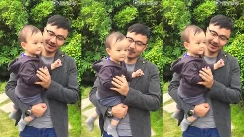 汪涵杨乐乐和儿子小沐沐享受幸福的亲子时光!