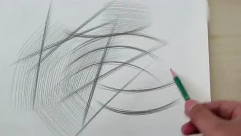 素描系统教学-线条练习