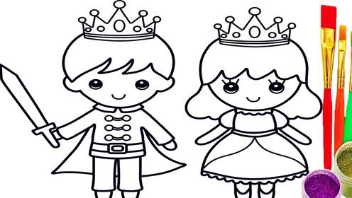 儿童简笔画《可爱小城堡》,一座想要吃掉的城堡