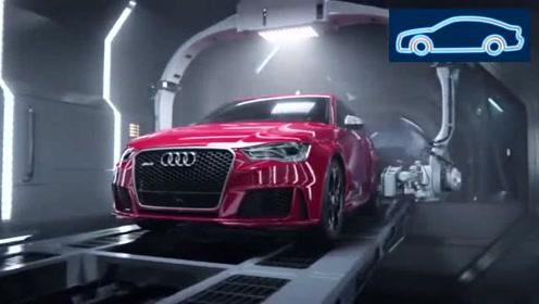奥迪RS3的诞生宣传片,这哪是广告,简直就是好