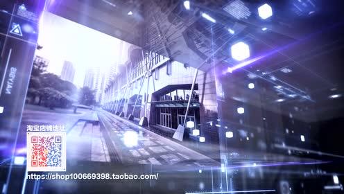 全息信息科技企业宣传片AE模板