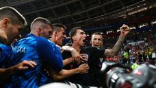克罗地亚2-1英格兰 曼朱基奇加时一击制胜