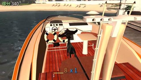 山羊模拟器:山羊去可游艇会发生什么?