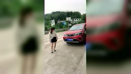 汽车变色说话特效视频抖音快手热门