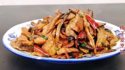 蘑菇不要直接下锅炒,多加这一步,蘑菇鲜美又