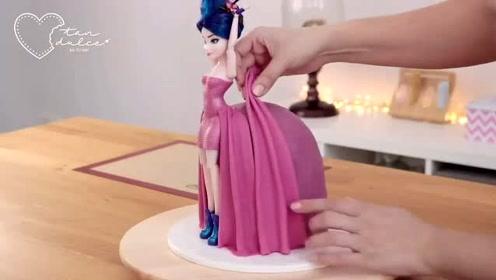 食玩创意烹饪:漂亮的裙子