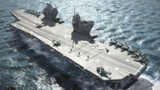 再夺第二航母大国宝座?欧洲强国第二艘航母曝光,战力异常强大