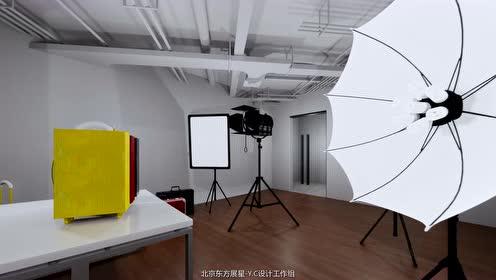 北京东方展星-东升大厦-润米科技办公室装修视频演示
