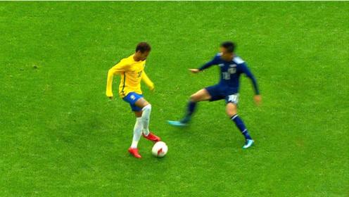 足坛最近接小罗的天才球员,内马尔的传奇玄幻足球技能集锦