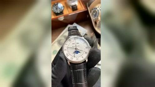 定制款宝珀经典6654腕表,实拍视频