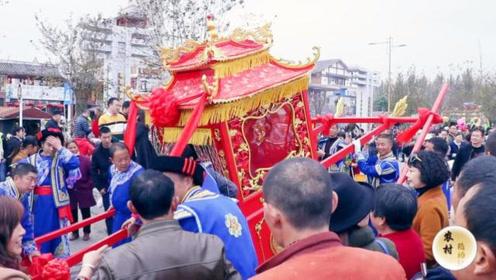 北川羌历年,美食土特产齐上阵,还有八抬大轿让人眼花缭乱