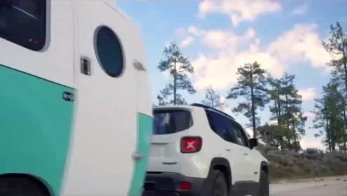 外国很火的户外露营车,随时想走就走,旅游太方便了!