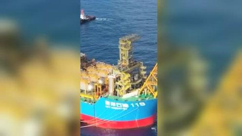 """揭秘中国""""海上油气超级工厂"""" 每天能提供400万辆汽车燃油"""