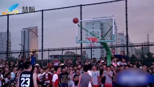 中国也有顶级街球高手,这水平如何?能不能打CBA,大家来看下!