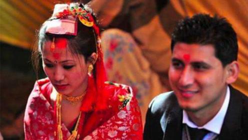 尼泊尔最特殊的部落,女孩一生至少结两次婚,第一次却嫁给坚果?