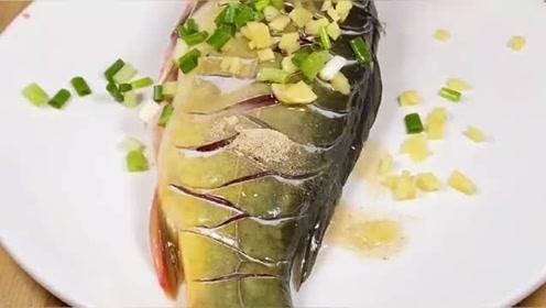 五星级大厨教你做红烧鱼,这刀工真的太厉害,出锅都抢着吃!