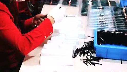 伊奈美鼻毛器生产视频
