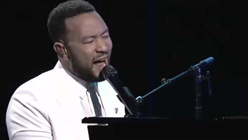 传奇哥John Legend公告牌音乐奖献唱热单Never *reak