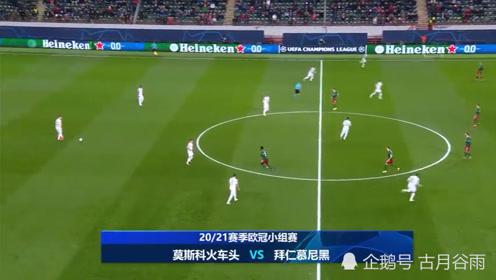 欧冠,拜仁客场2-1击败莫斯科火车头